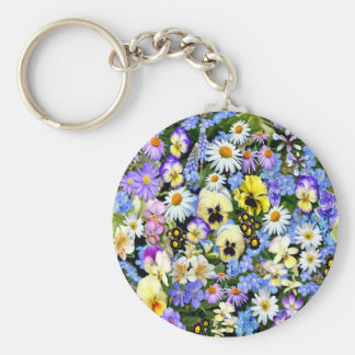 Favourite Flowers Keychains