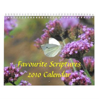 Favourite Scriptures 2011 Calendar