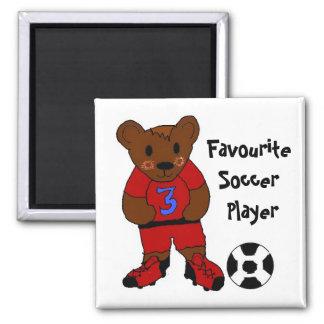 Favourite Soccer Player Fridge Magnets