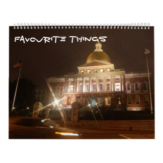 favourite things calendar