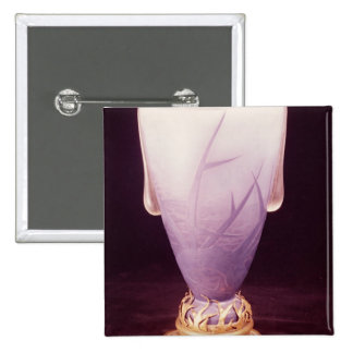 Favrile vase with ormolu base pin
