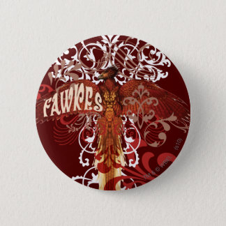 Fawkes Spread Wings Button