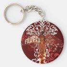Fawkes Spread Wings Keychain