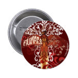 Fawkes Spread Wings Pinback Button