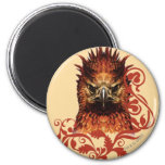 Fawkes Staring Refrigerator Magnets