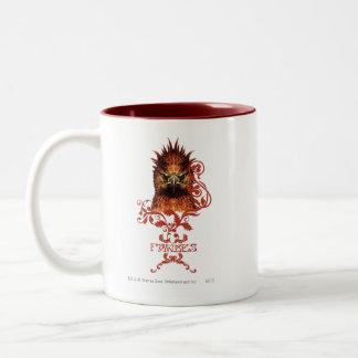 Fawkes Staring Two-Tone Coffee Mug