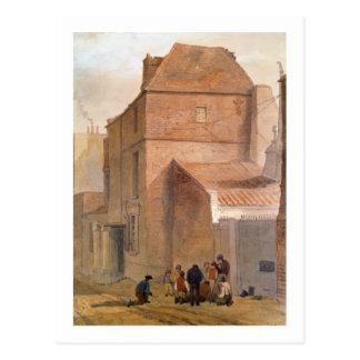Fawler's Lodge, Islington, London (w/c on paper) Postcard