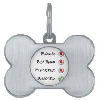 Fawlty's Horse Pet Name Tag