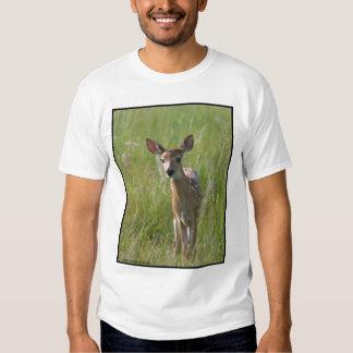 """Fawn #2"" white-tail deer T Shirt"