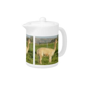 Fawn Alpaca Teapot