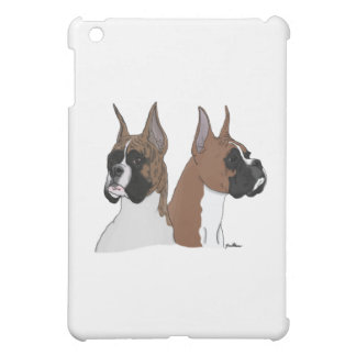 Fawn and Brindle Boxers iPad Mini Case