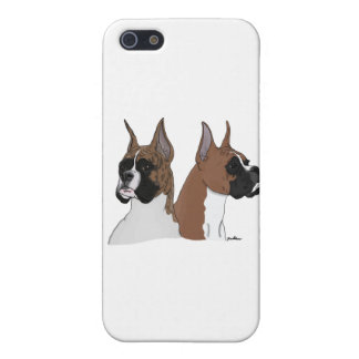 Fawn and Brindle Boxers iPhone 5 Cover
