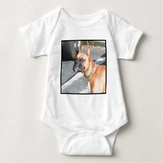 Fawn Boxer Dog Baby T-shirt