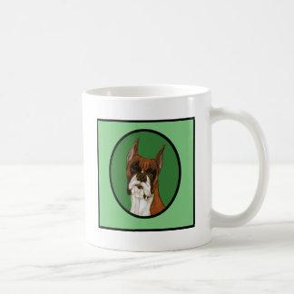 Fawn Boxer Head Study Coffee Mug
