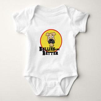 Fawn Bulldog/Mastiff (Bullies are Better) Baby Bodysuit