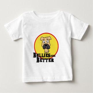 Fawn Bulldog/Mastiff (Bullies are Better) Baby T-Shirt