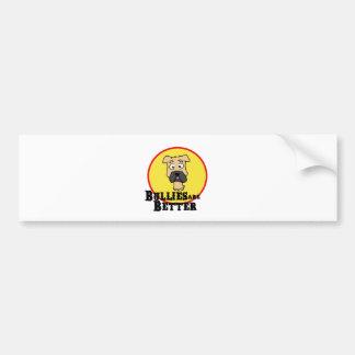 Fawn Bulldog/Mastiff (Bullies are Better) Car Bumper Sticker