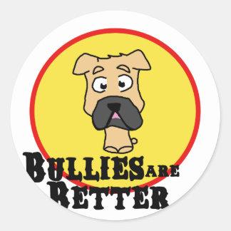 Fawn Bulldog/Mastiff (Bullies are Better) Sticker