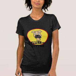 Fawn Bulldog/Mastiff (Bullies are Better) T-Shirt