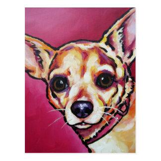 Fawn Chihuahua 2 Postcard