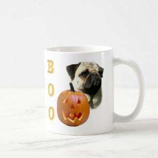 Fawn Coated Pug Boo Coffee Mug