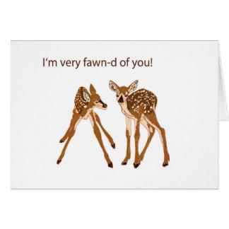 Fawn-d of You Deer Card