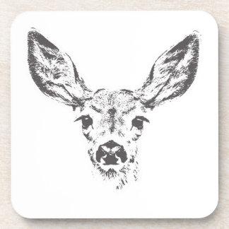 Fawn deer coaster