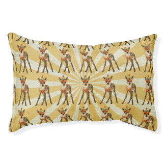 FAWN & DEER Dog Bed