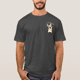 Fawn French Bulldog IAAM Pocket T-Shirt