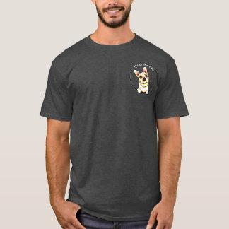 Fawn French Bulldog IAAM Pocket T-Shirt