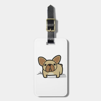 Fawn Frenchie Bag Tag