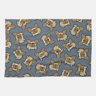 Fawn Frenchie Hand Towels