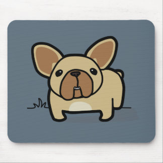 Fawn Frenchie Mouse Pad
