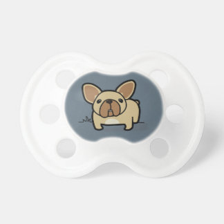 Fawn Frenchie Baby Pacifiers