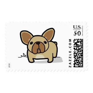 Fawn Frenchie Postage