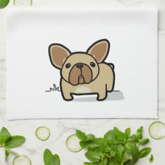 Fawn Frenchie Towels