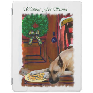 Fawn Great Dane Christmas iPad Smart Cover