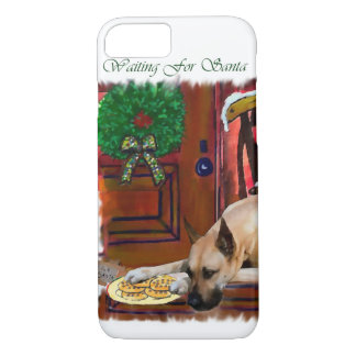 Fawn Great Dane Christmas iPhone 8/7 Case