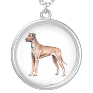 Fawn Great Dane Necklace