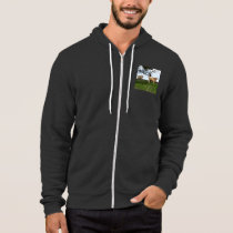 Fawn Highland Cow, Hoodie