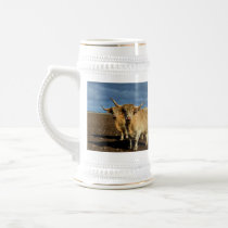 Fawn Highland Cows, Beer Stein