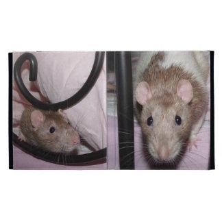 fawn hooded rat Caseable iPad Folio Case