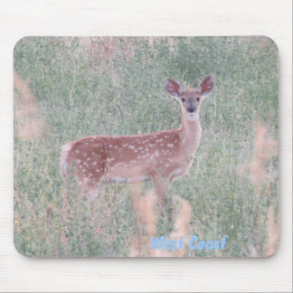 Fawn in a Field Mouse Pad