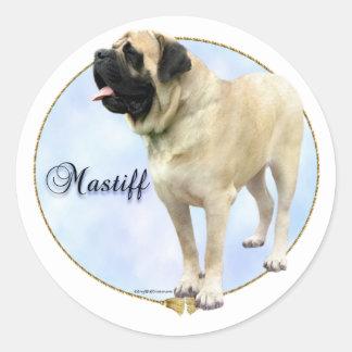 Fawn Mastiff Portrait Sticker