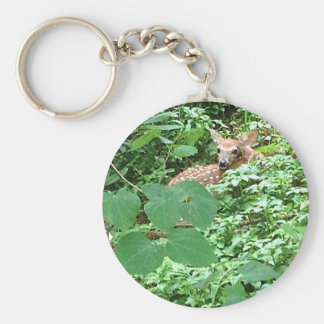 FAWN of Hearts! --- Basic Round Button Keychain