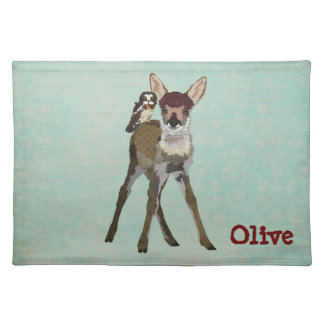 FAWN & OWL Placemat