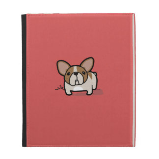 Fawn Pied Frenchie iPad Folio Covers