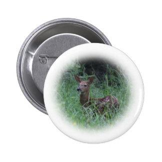 Fawn Pinback Button