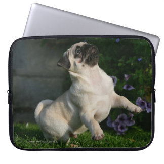 Fawn Pug Puppy Computer Sleeve