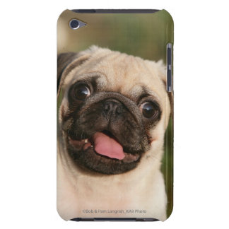 Fawn Pug Puppy Panting iPod Touch Case-Mate Case